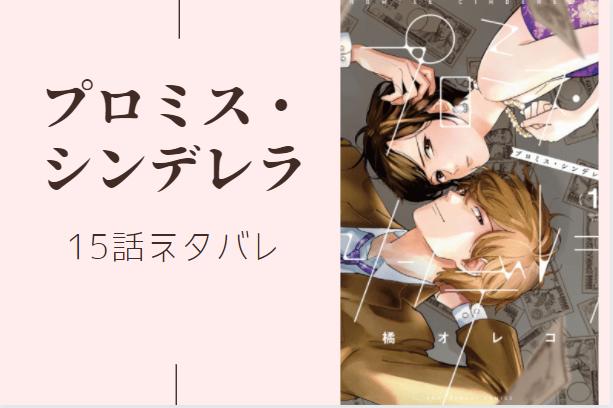 プロミス・シンデレラ3巻15話のネタバレと感想【私は無理】