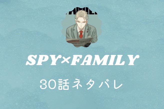 スパイファミリー5巻30話のネタバレと感想【ヨルを狙う女現る】